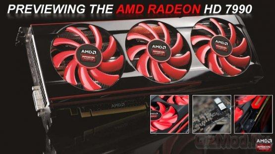 Radeon HD 7990 � ����� ������� ����������� Radeon Sky