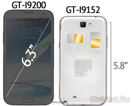 Первые смартфоны из новой линейки Galaxy Mega