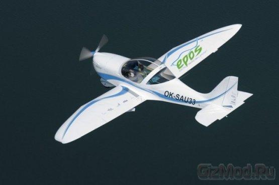 Электрический двухместный самолет SportStar EPOS