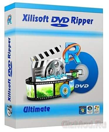 Xilisoft DVD Ripper 7.7.2.20130418 - видеоредактор