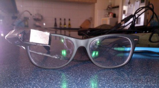 Самодельные Google Glass