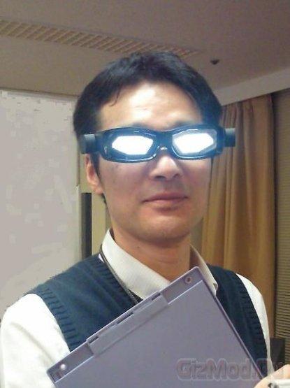 Светоизлучающие OLED-очки Toshiba