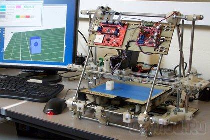 NASA выделило грант на 3D-принтер для печати еды