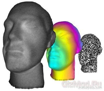 Новый способо получения 3D изображений