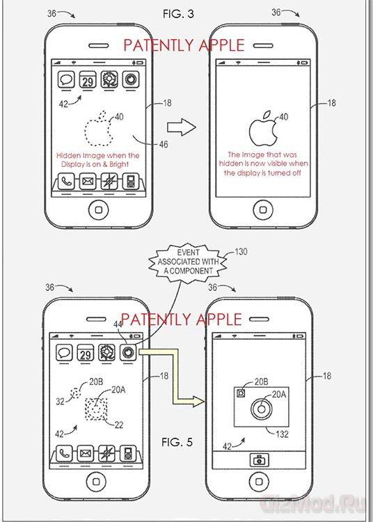 Разработка Apple позволяет спрятать камеру под экраном