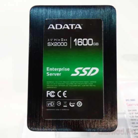 Шустрый SSD Adata SX2000
