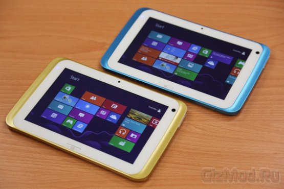"Windows 8 в 7"" планшете Inventec"