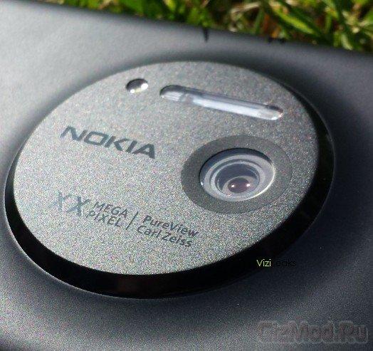 Смартфон Nokia EOS во всей красе