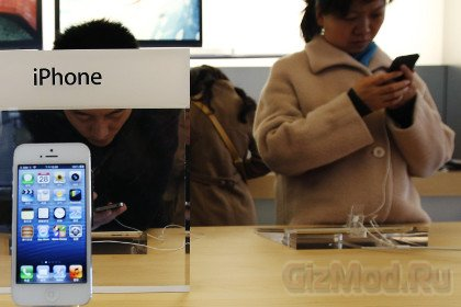 Apple меняет старые iPhone на новые