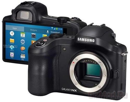 ����������� Samsung Galaxy NX � �� Android �� �����