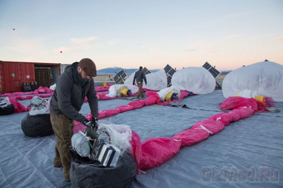 Google Project Loon - �������� ��� ����