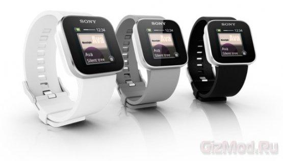 Sony усовершенствовала часы SmartWatch