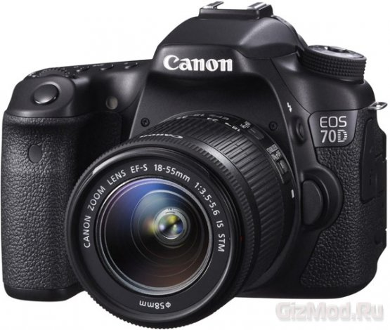 ����� �������� Canon EOS 70D � ���������� �����������