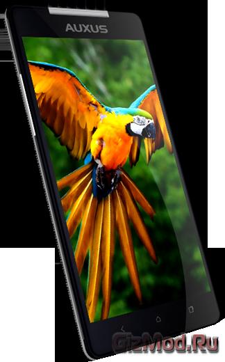 Full HD экран в смартфоне Auxus Nuclea N1