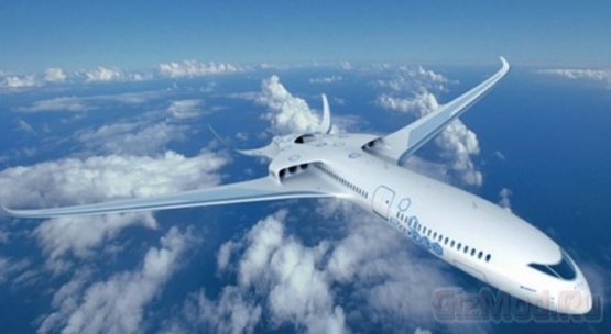 Электрический лайнер E-Thrust стартует в 2050 году