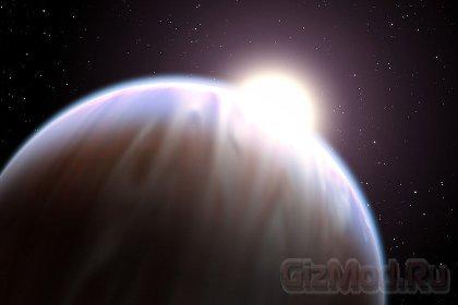 Первая голубая экзопланета