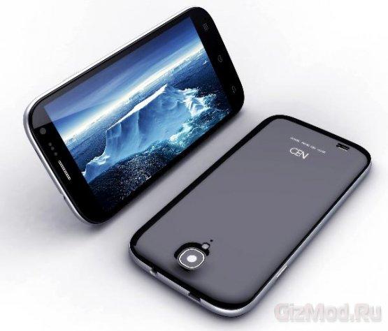Экран смартфона Neo N003 проходит испытания сверлом