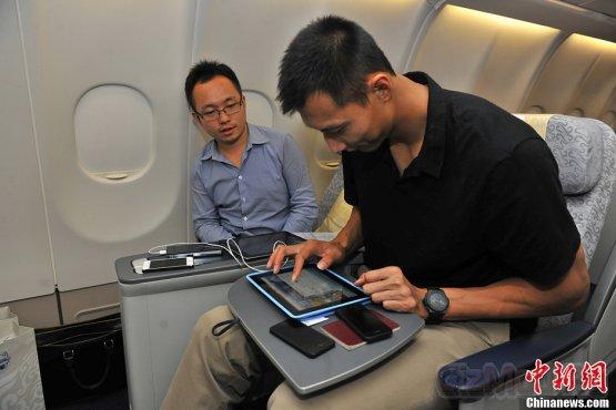 Wi-Fi на борту самолета - что к чему