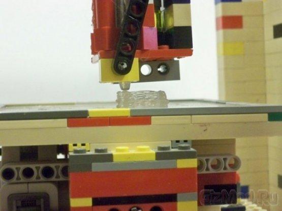 3D-принтер из LEGO: принтеры делают принтеры