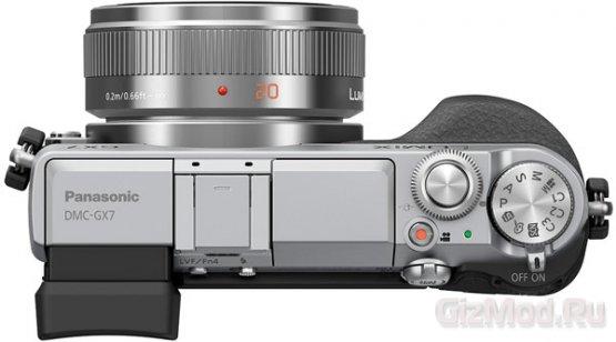 Panasonic представила беззеркалку Lumix DMC-GX7