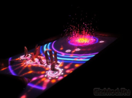 AquaTop Display - интерактивная ванна