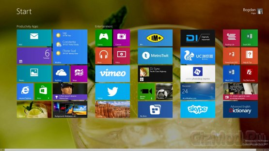 Windows 8 �� ������������� ������� ��������