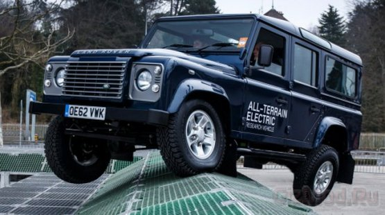 Электрический Land Rover Defender проявил себя в тестах