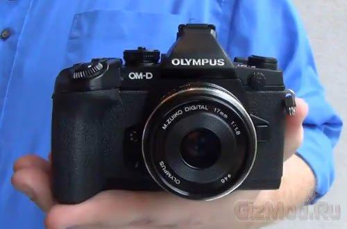 ������ ����������� ������ Olympus OM-D E-M1