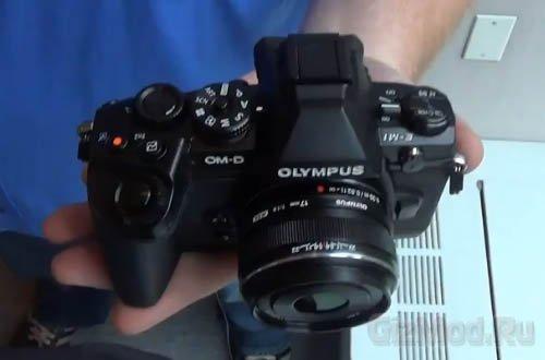 Первые изображения камеры Olympus OM-D E-M1