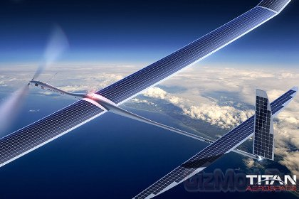 Titan Aerospace запустит в небо беспилотник на пять лет