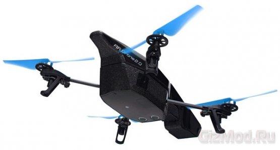 """""""Шпион"""" AR.Drone 2.0 управляется со смартфона"""