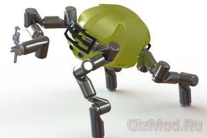 Робот-обезьяна в исполнении JPL