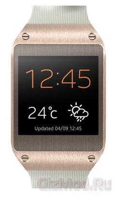 Умные часы Galaxy Gear к смартфонам Samsung