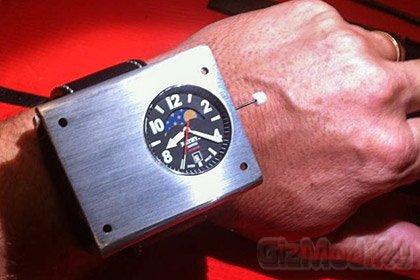 Наручные атомные часы!