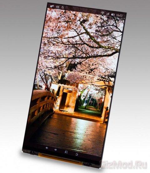 543 dpi в дисплее для смартфонов Japan Display