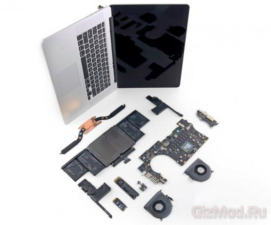 iFixit ��������� � ����� MacBook Pro