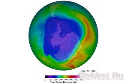 Озоновый слой восстанавливается
