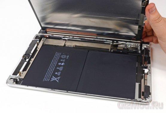 iFixit провели вскрытие планшета iPad Air