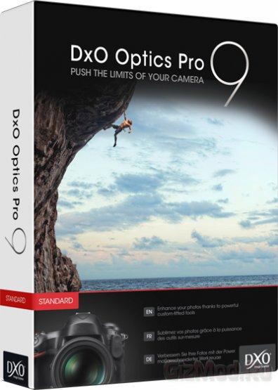 DxO Optics Pro 9.0.0.1394 Elite - обработка RAW изображения