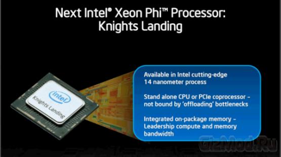 Intel о процессорах Xeon Phi Knights Landing