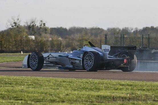 Formula E на треке