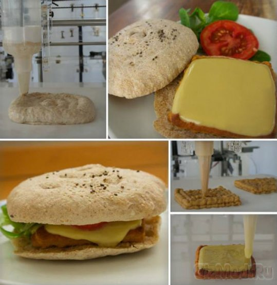 3D-принтер для производства еды