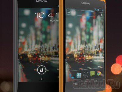 "Nokia Normandy - ""��������"" �� Android"