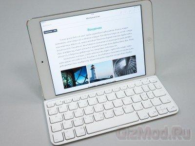 Обзор клавиатур Logitech для iPad mini