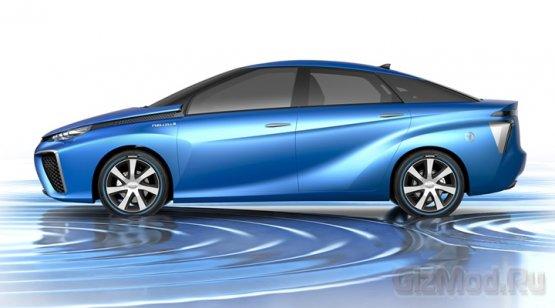 Сонцепт Toyota FCV на топливных элементах