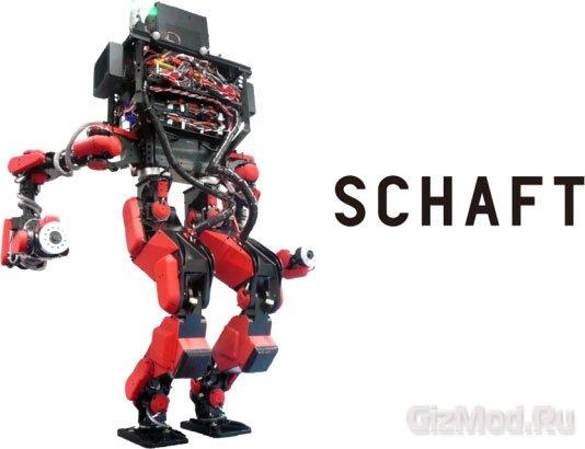 Робот SCHAFT победил в конкурсе DARPA
