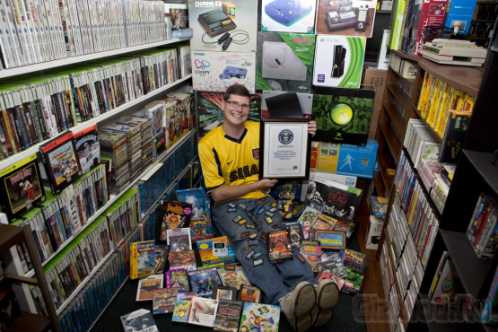 Коллекция в 11 тыс. игр привела к рекорду