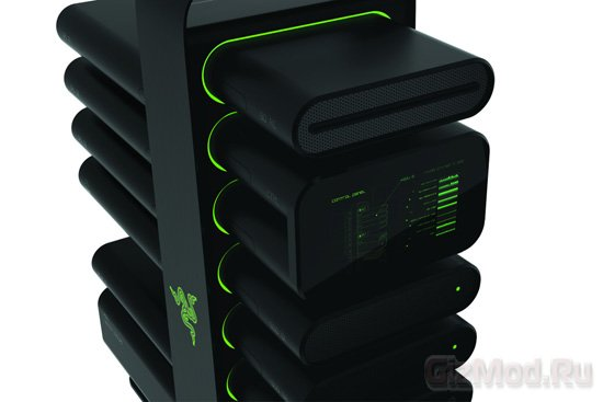 Razer показала модульный компьютер Project Christine