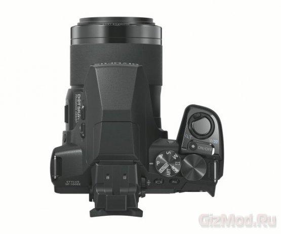 Камера с коллиматорным прицелом Olympus Stylus SP-100EE