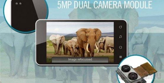 HTC M8 имеет две фронтальные камеры